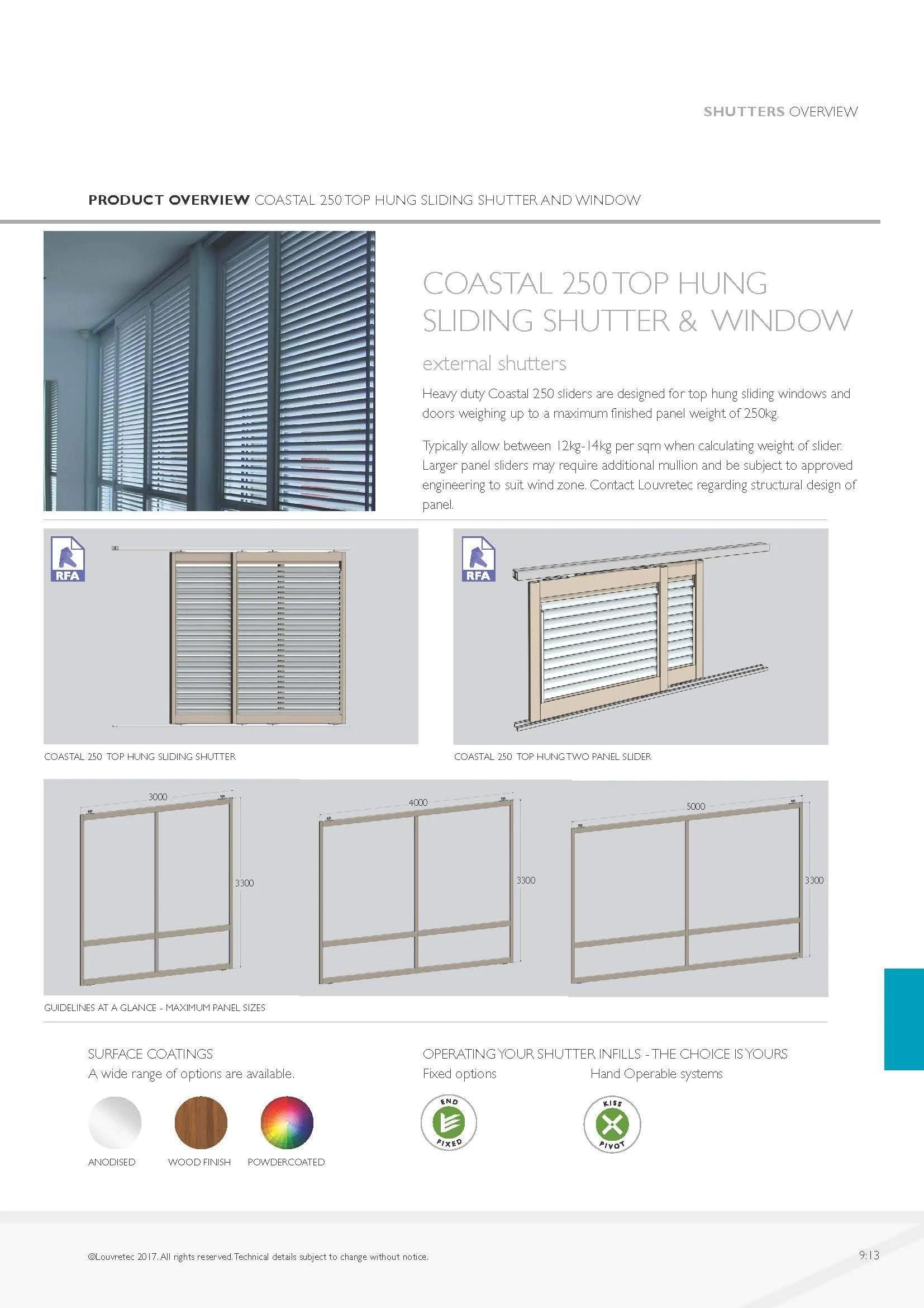 Louvretec Australia Technical Sliding Door Systems