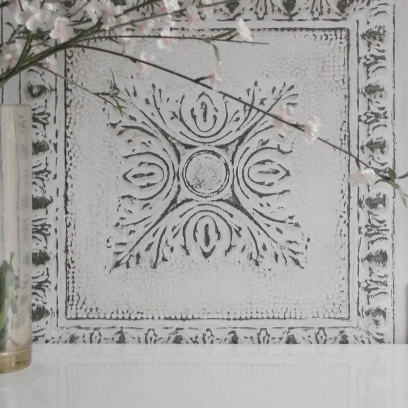 tin tile tile effect wallpaper your