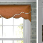 Diy Cornice Valance Kit No Sewing Reusable Fit Any Window Size Traceable Designer