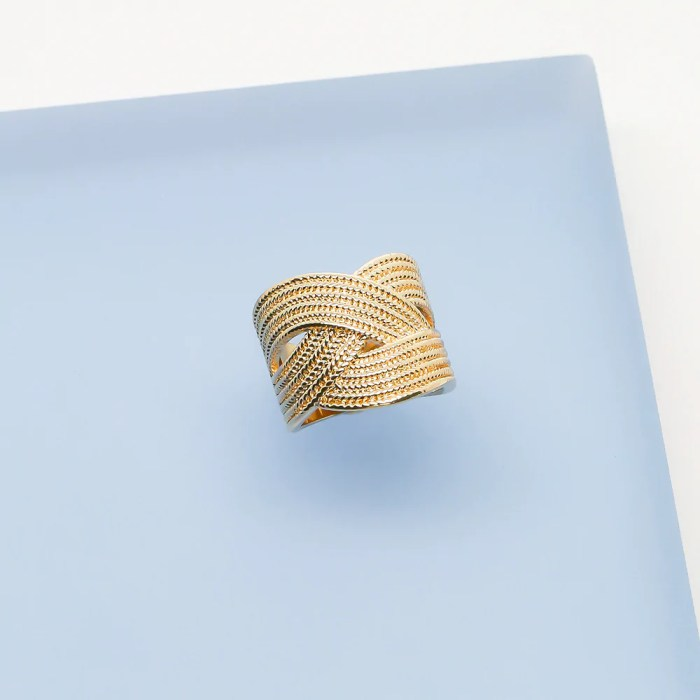Ana Luisa Adele Cocktail Ring