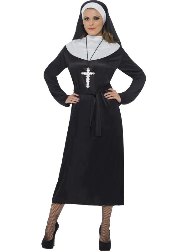 Women's Nun Costume £6.99