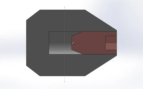 Center of Pressure and Mass Diagram
