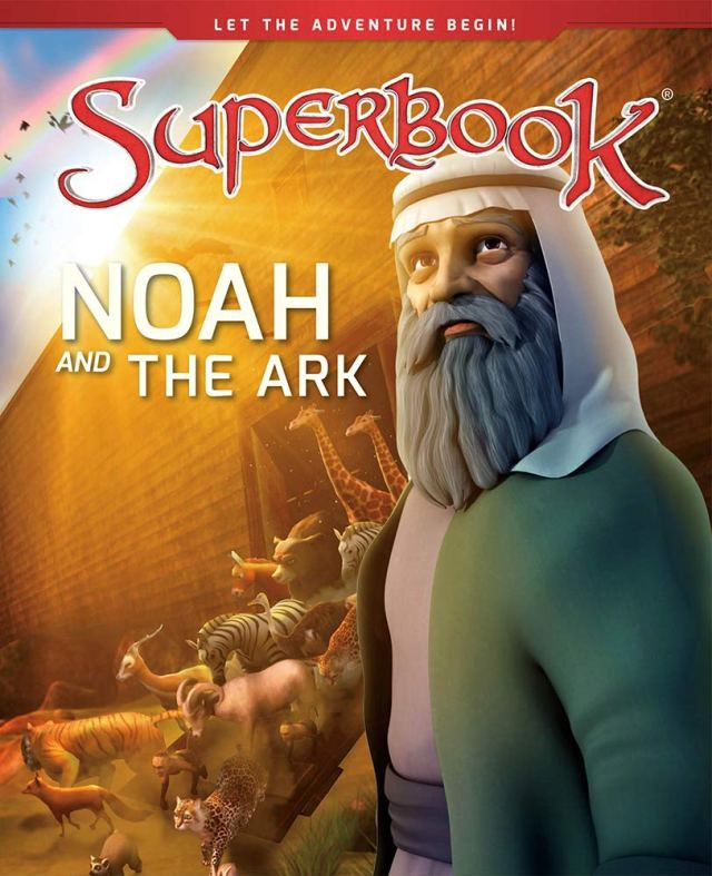 Superbook - Noah and the Ark (Book) : A Boat for His Family and Every  Animal on Earth