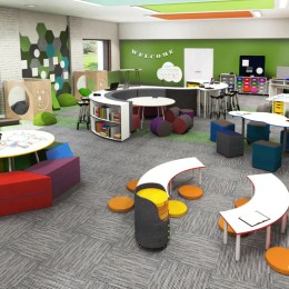 Kay Twelve Partners With Norvanivel Learning Spaces Classrooms