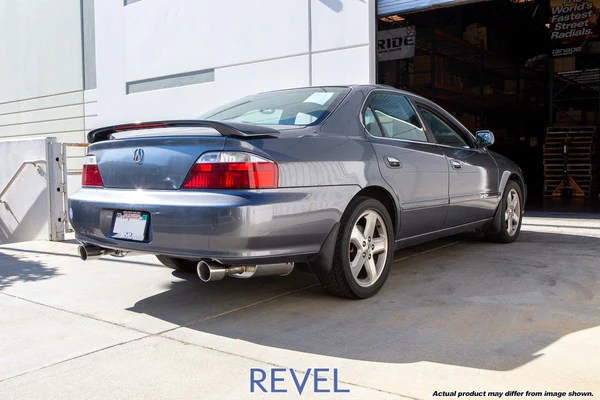 revel medallion touring s exhaust acura tl type s 01 03 sp engineering