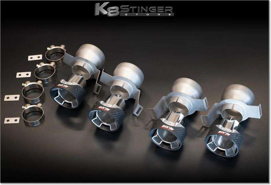 borla carbon fiber exhaust tips kit