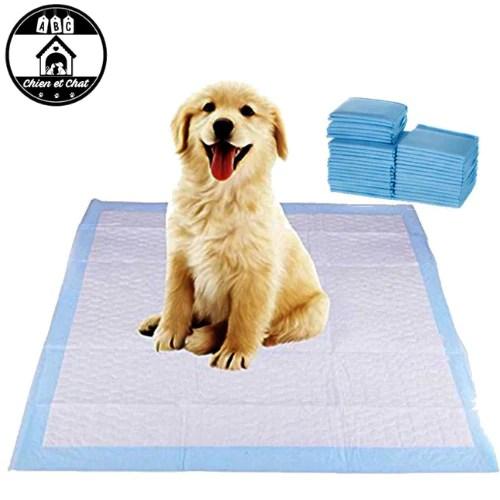 serviette proprete chien et chat tapis educateurs alese absorbante urine