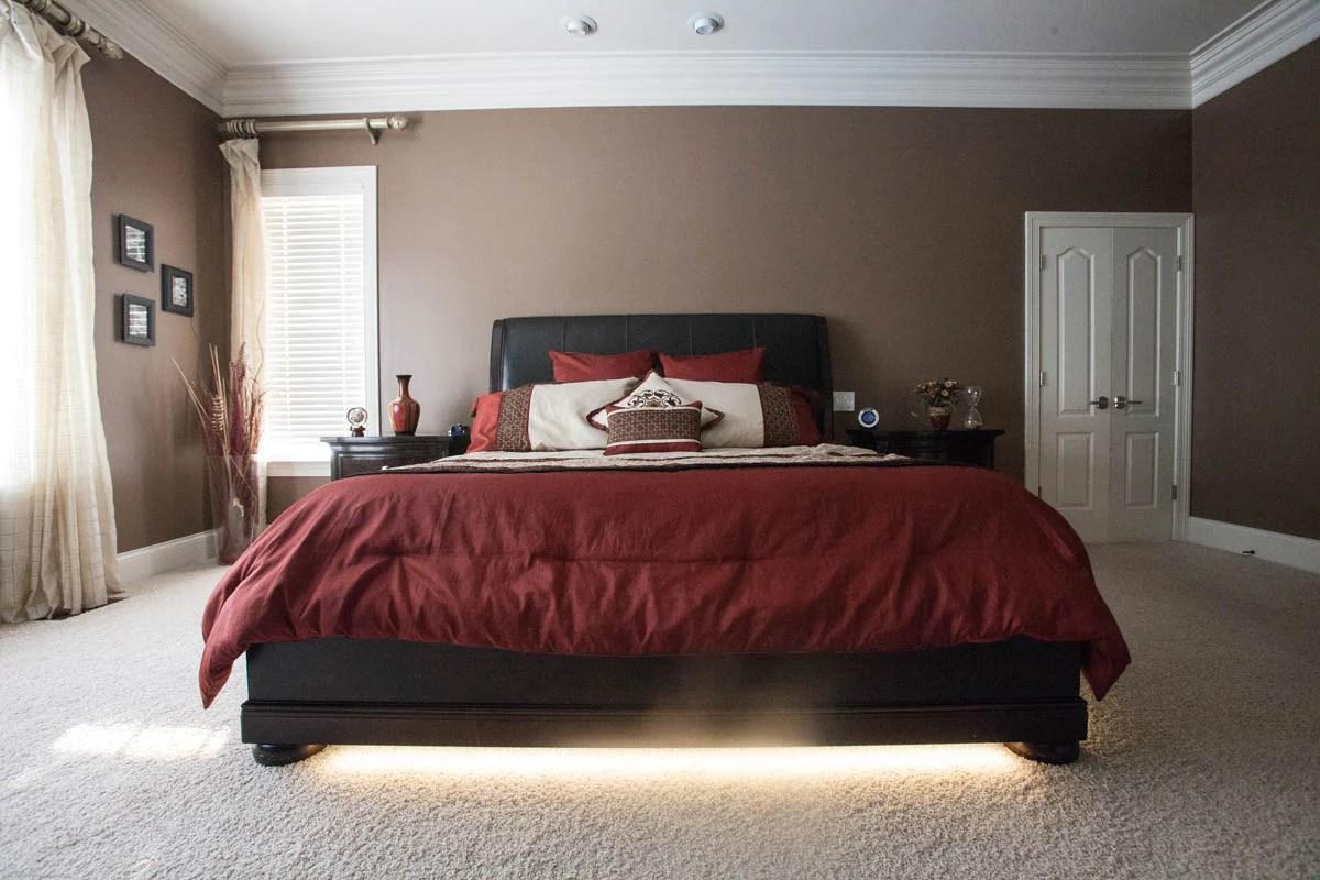 master bedroom accent lighting