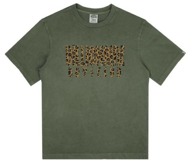 Bbc Leopard Fill Straight Logo Ts Nous