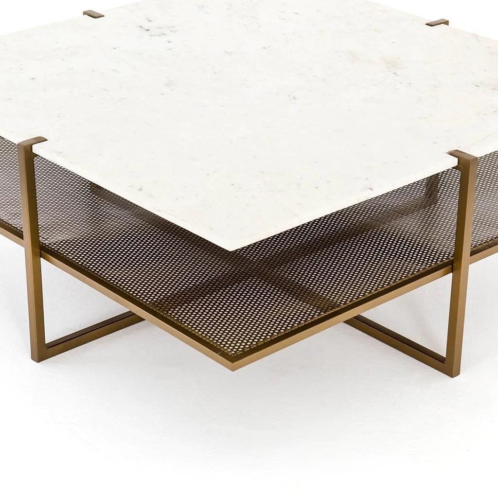 olivia square coffee table