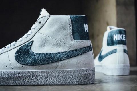 Nike SB Zoom Blazer Mid Premium 'Grey Fog'