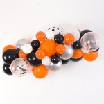 Halloween Balloon Arch And Garland Kit 5 10 16 Foot Shimmer Confetti