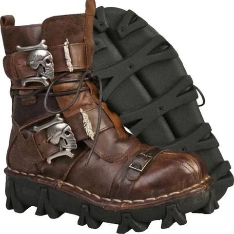 Biker Skull Boots