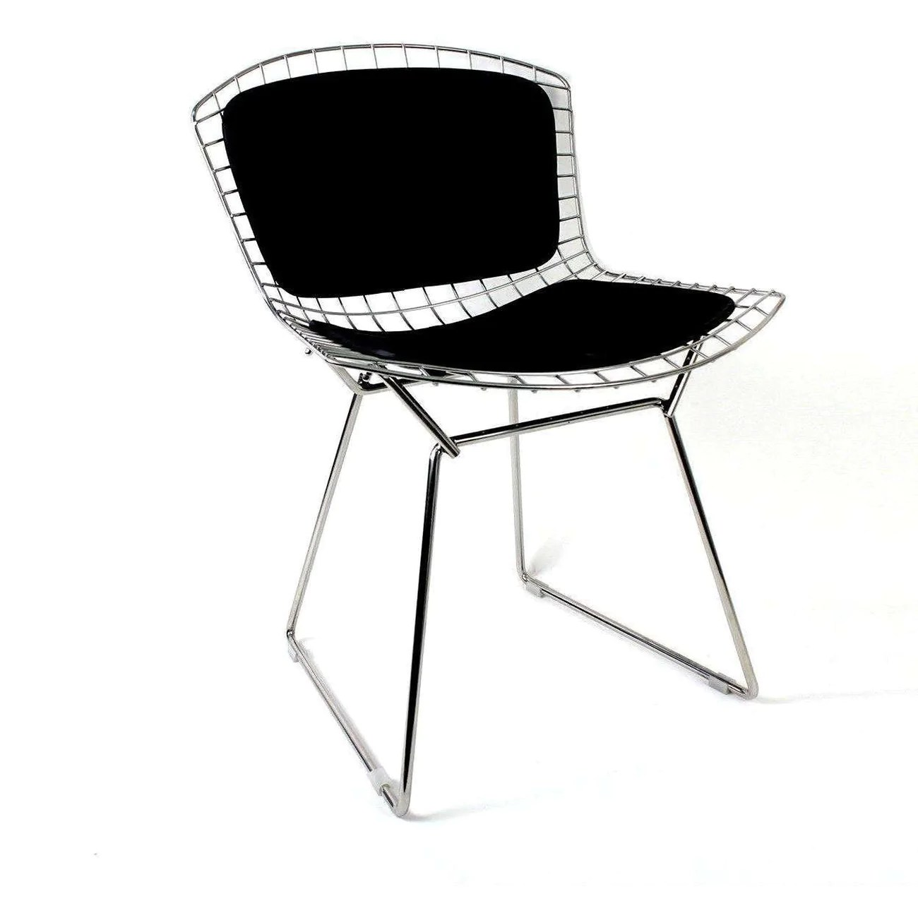 Mid Century Modern Reproduction Bertoia Side Chair With