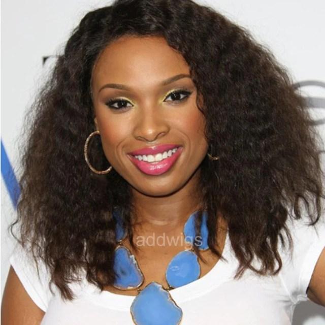 jennifer hudson celebrity customized wigs human hair lace wig