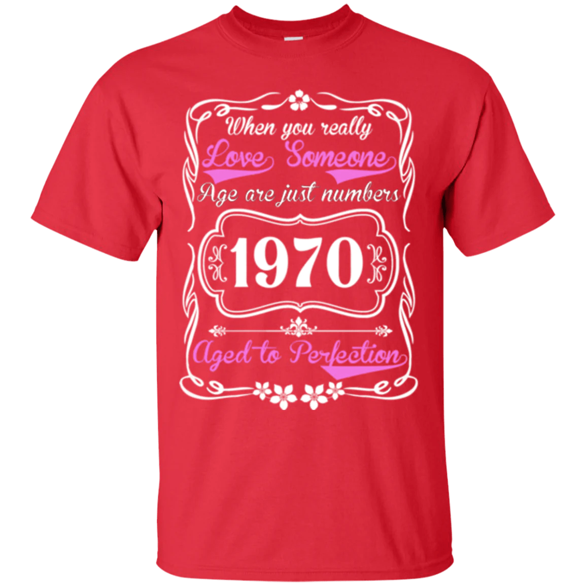 Aged Perfection 1970 T Shirt