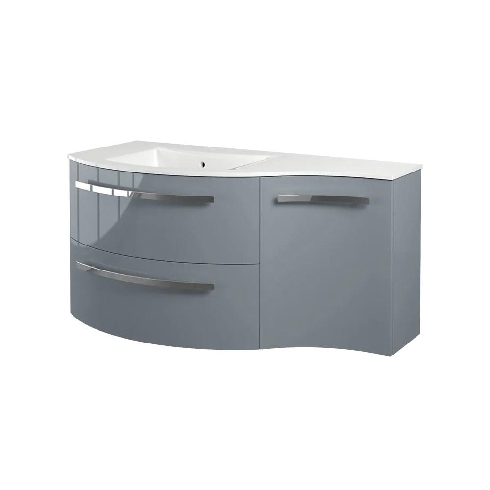 latoscana 43 modern bathroom vanity right side cabinet ambra series am43opt1