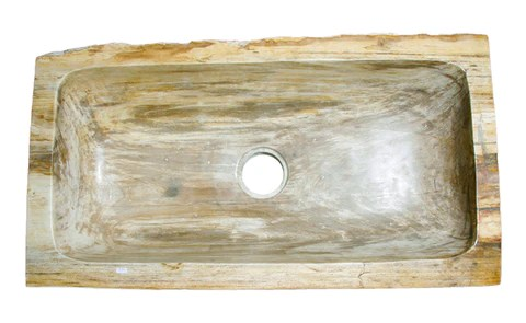 36 petrified wood farmhouse kitchen sink in red orange taupe
