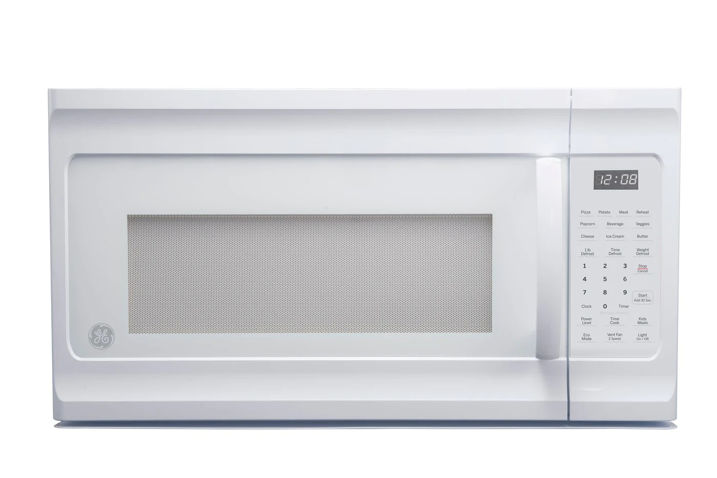 ge white over the range microwave 1 6 cu ft jvm2160dmww