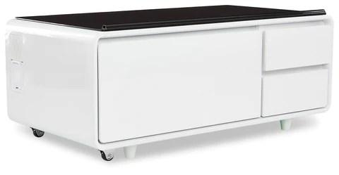 sobro smart coffee table white