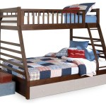 Starship Twin Over Full Bunk Bed Chocolate Cherry Leon S
