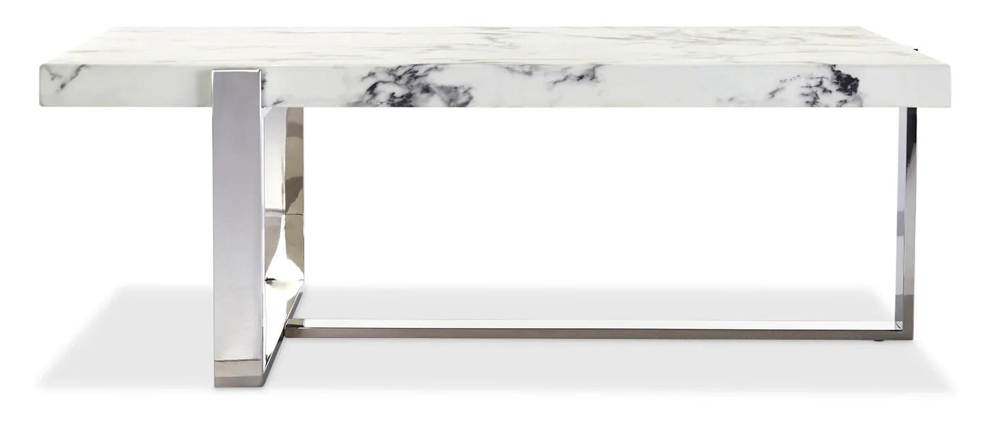 bellini coffee table white