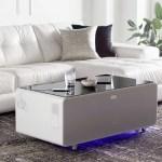 Sobro Smart Coffee Table White Leon S