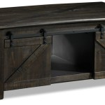 Gable Lift Top Coffee Table Weathered Charcoal Leon S