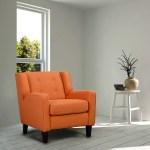 Stella Accent Chair Orange Leon S