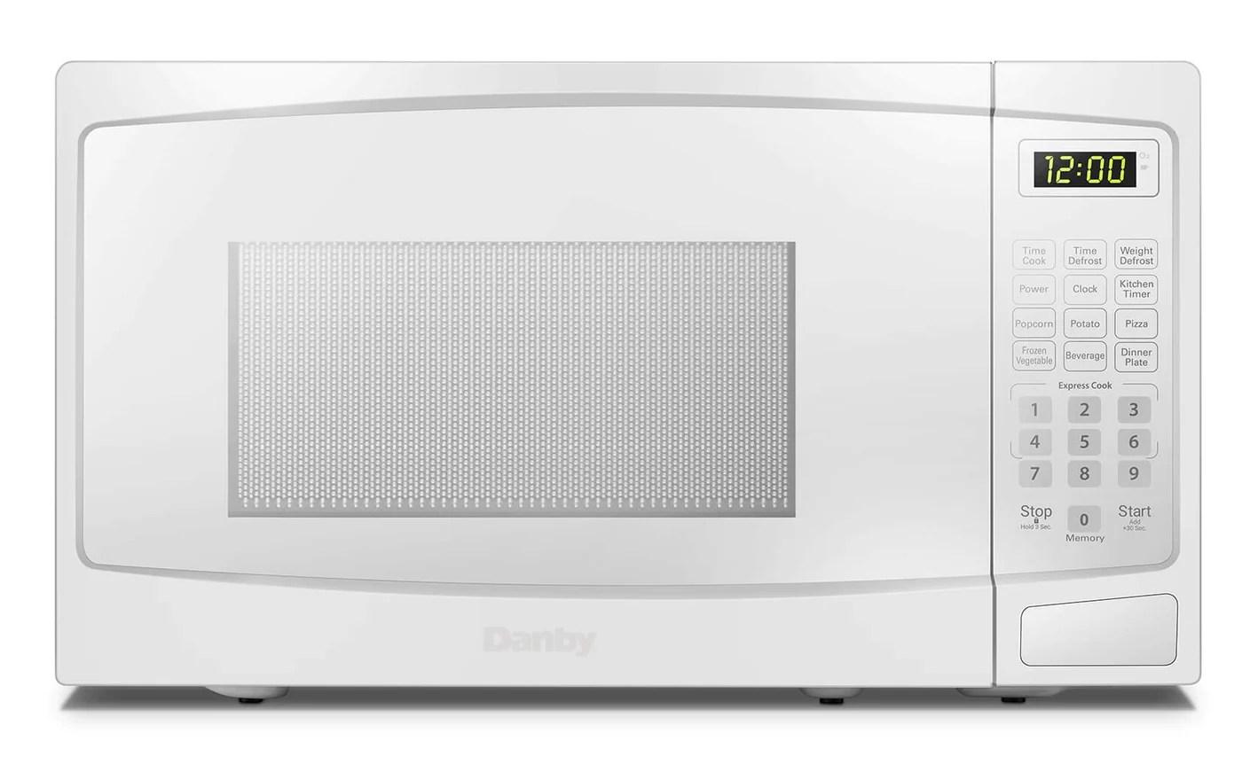 danby 0 7 cu ft countertop microwave dbmw072w
