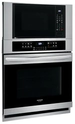 frigidaire gallery 30 electric combination wall oven microwave fgmc3066uf