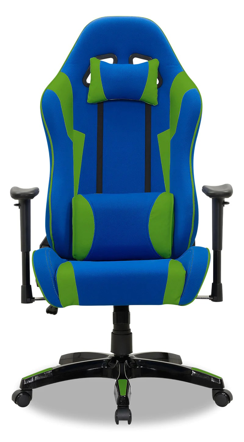 Gamer Chair Navy And Green The Brick