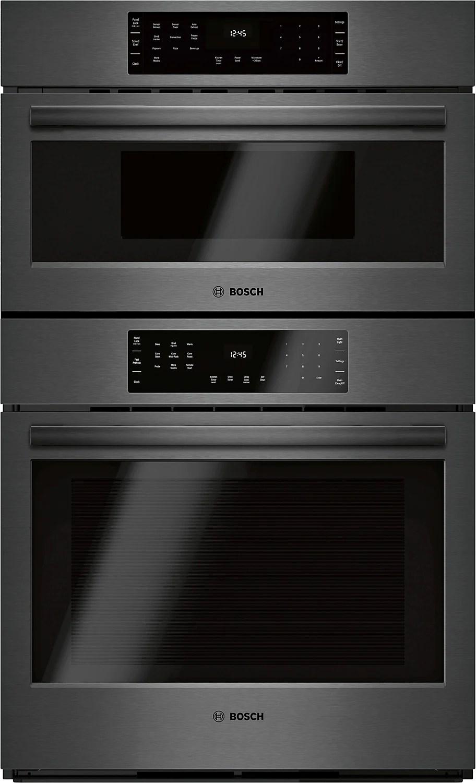 bosch 4 6 cu ft 800 series smart microwave combination wall oven hbl8743uc