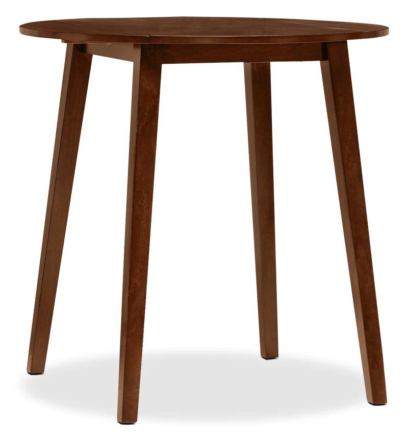 adara round drop leaf counter height dining table table ronde a abattant de