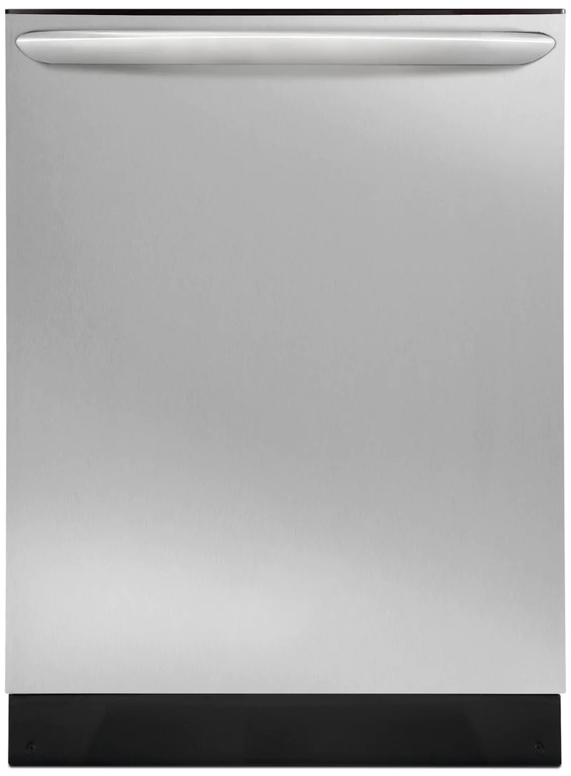frigidaire gallery 24 built in dishwasher with dishsense stainless steel