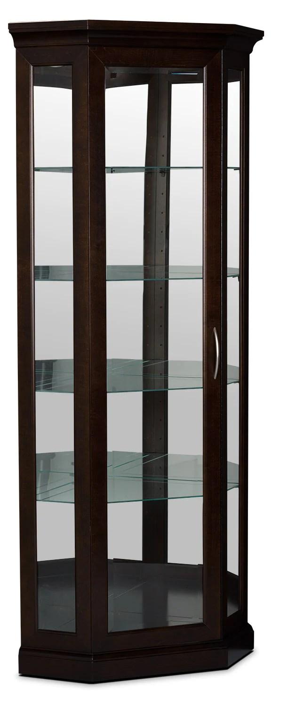 london corner display cabinet armoire vitree de coin london