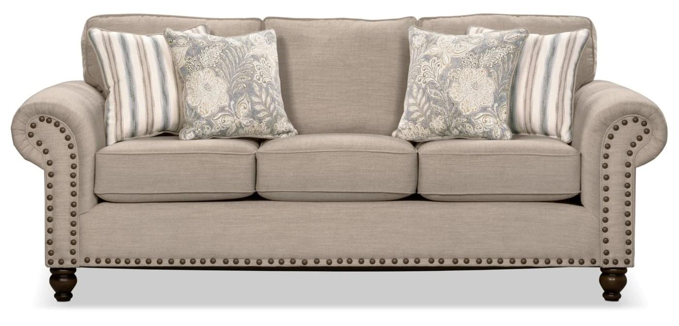 wynn chenille sofa beige