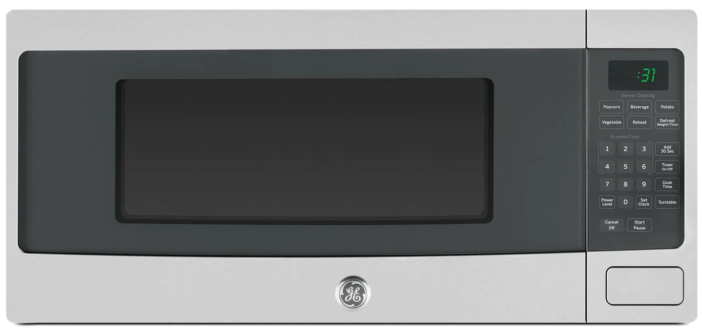 ge 1 1 cu ft spacemaker microwave oven pem10sfc