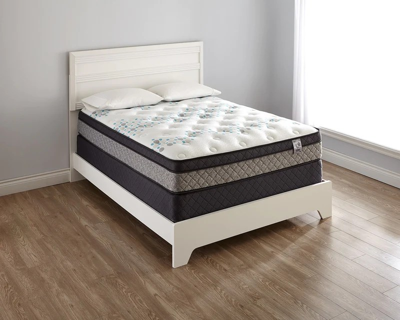 Springwall Bella Euro Top Full Mattress The Brick