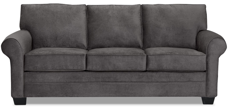 designed2b dov chenille sofa lavish charcoal sofa dov de la collection design a mon