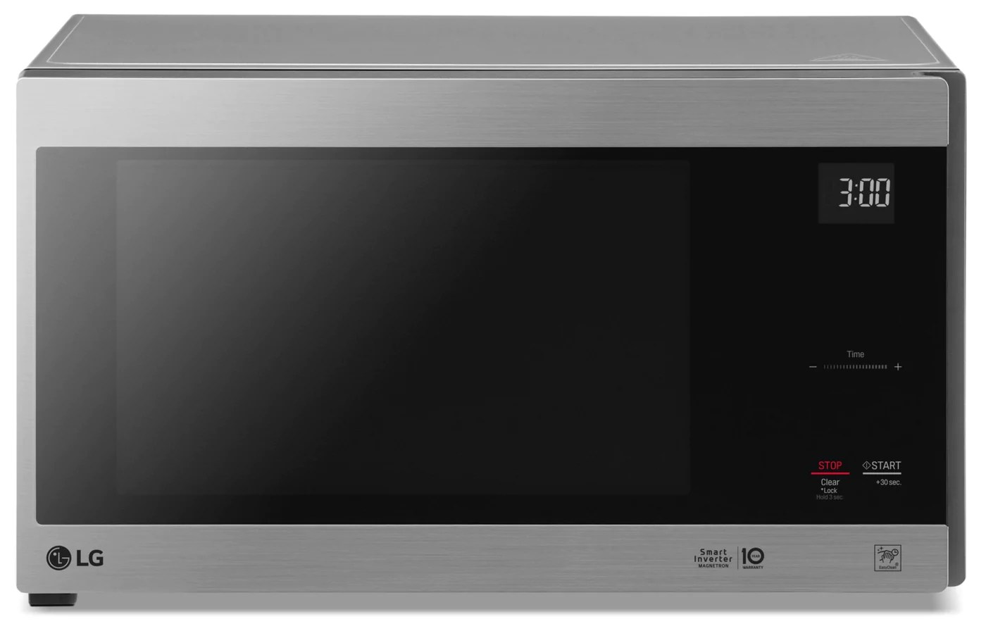 lg 1 5 cu ft neochef countertop microwave with smart inverter and easyclean lmc1575st