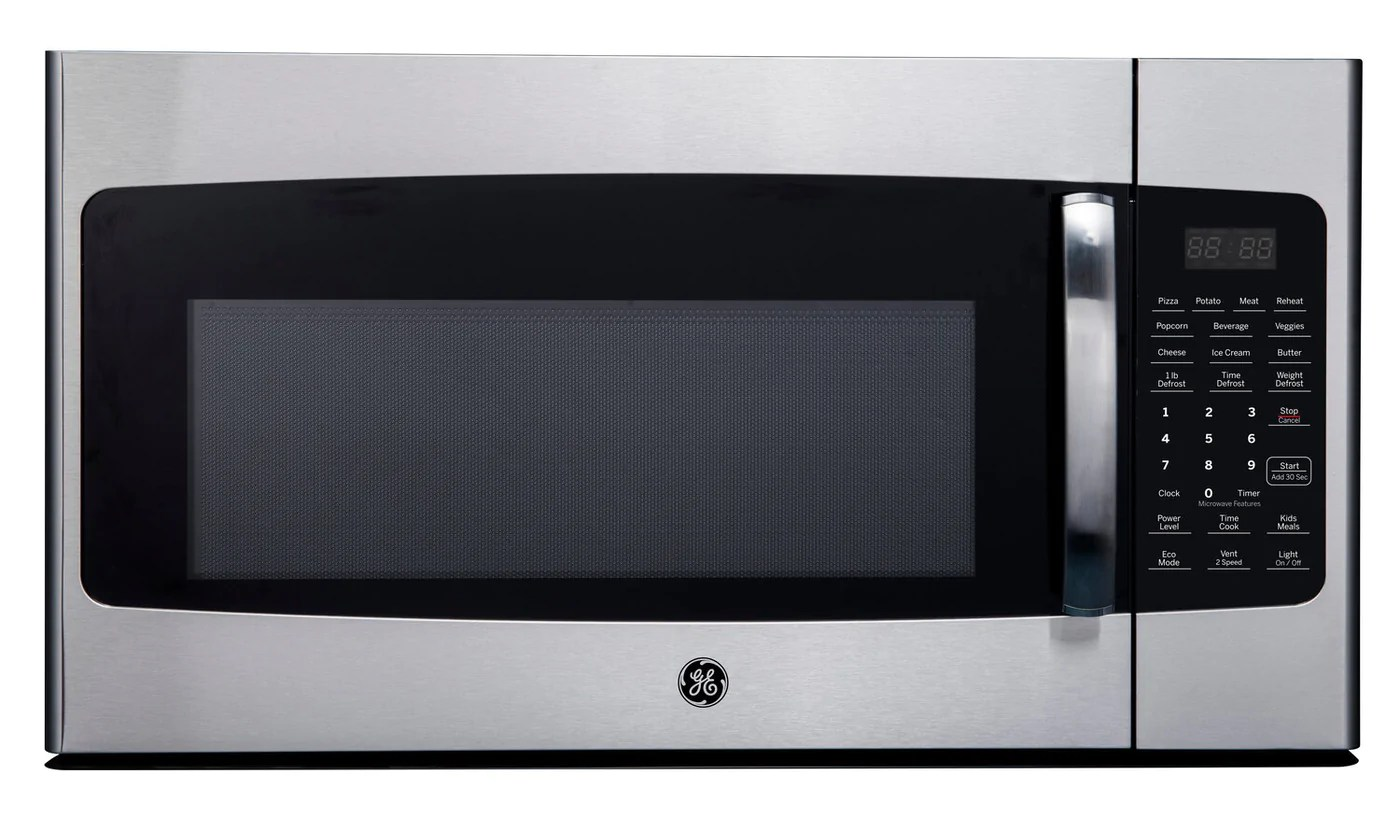 ge 1 6 cu ft over the range microwave jvm2165smss