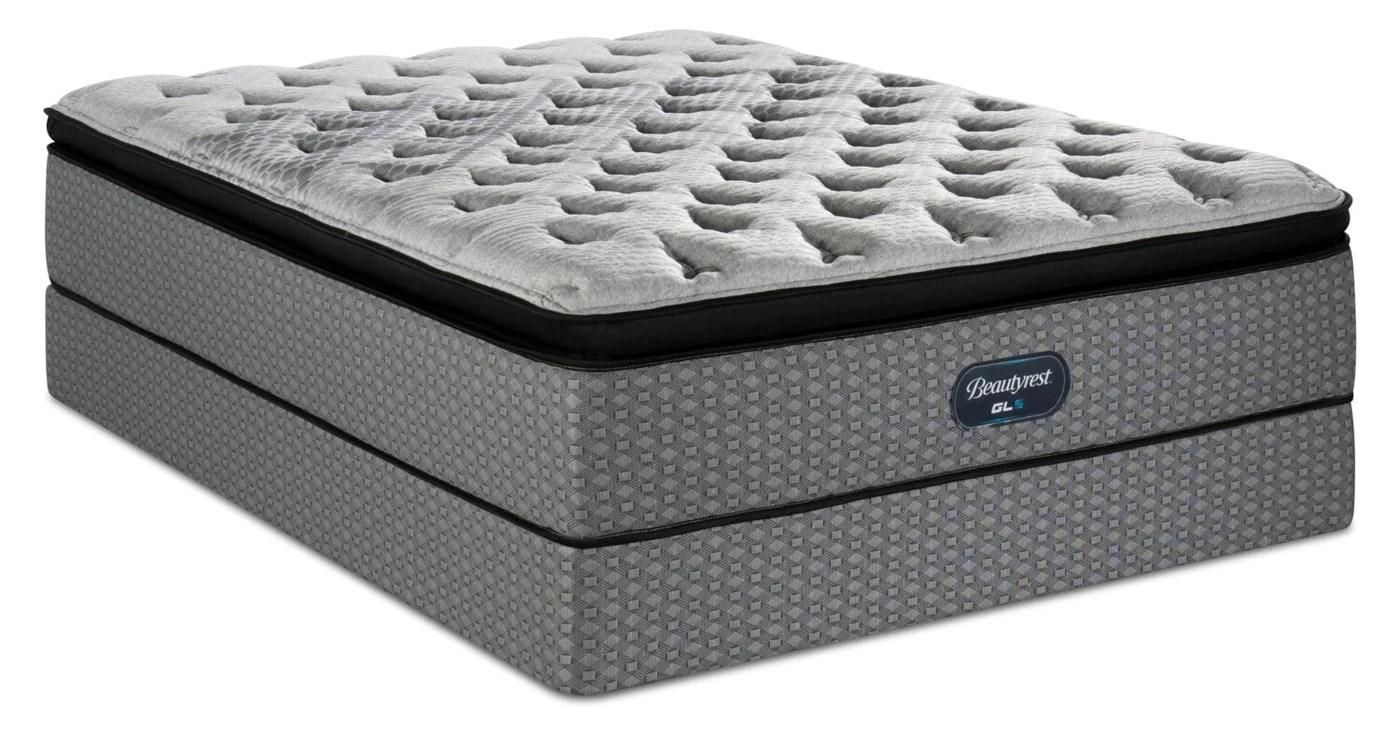 beautyrest gl5 pillowtop queen mattress set