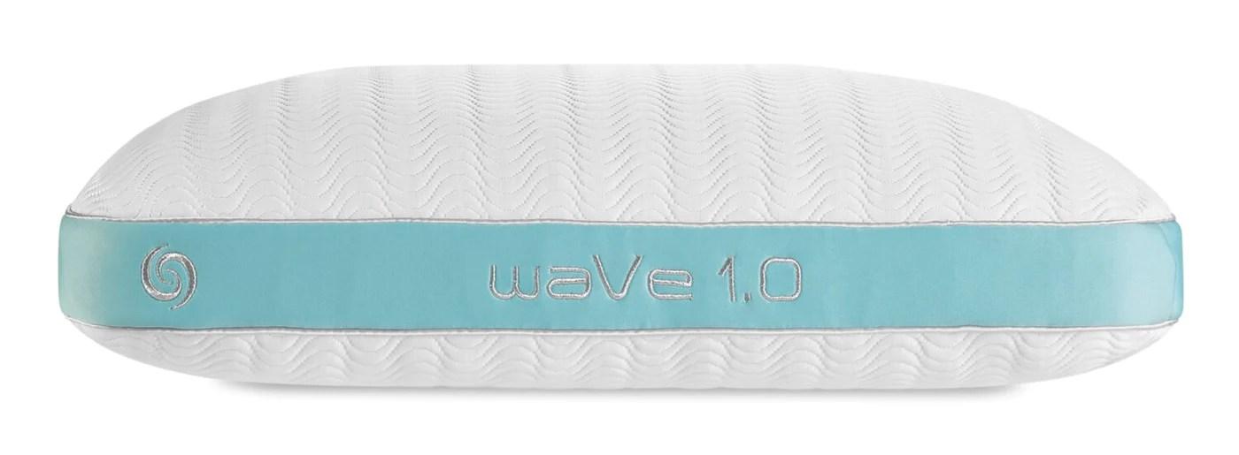 bedgear wave 1 0 pillow stomach sleeper