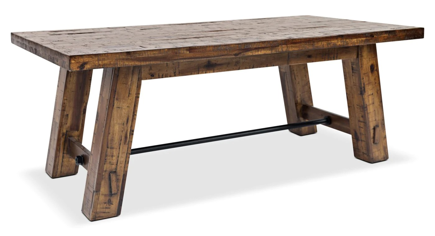 galveston coffee table with hidden casters