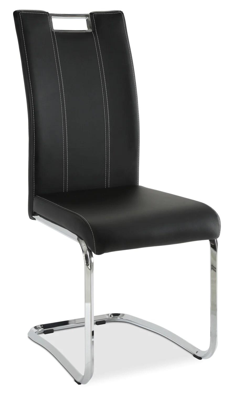 chaise de salle a manger tuxedo noire