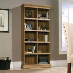 Barrister Lane Tall Bookcase Scribed Oak