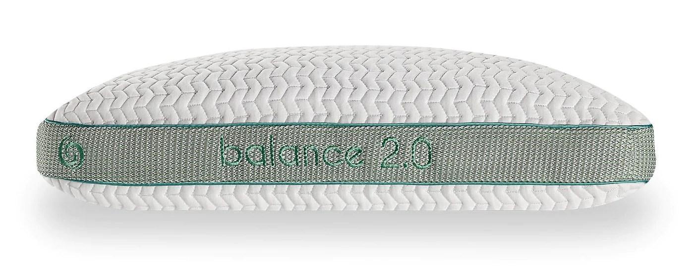 bedgear balance 2 0 pillow back sleeper