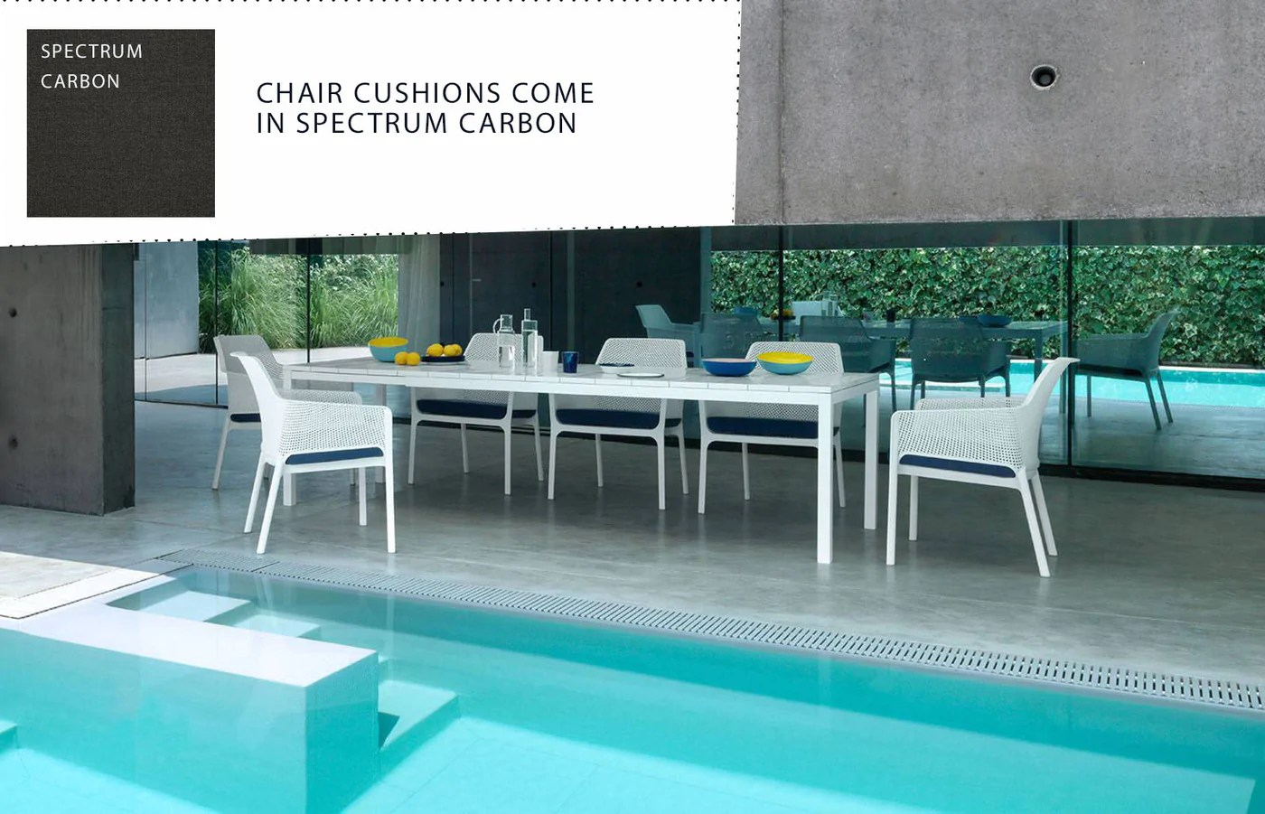 nardi rio 11 piece outdoor extension dining package white