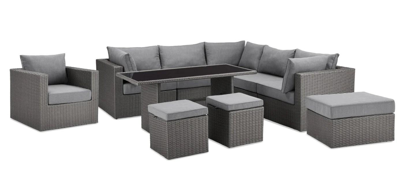 anegada 10 piece patio set